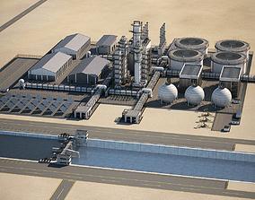 Refinery 002 3D