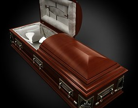High Def Classic Coffin Renaissance 3D model