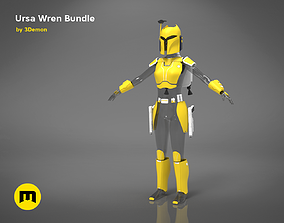 3D printable model Ursa Wren Bundle