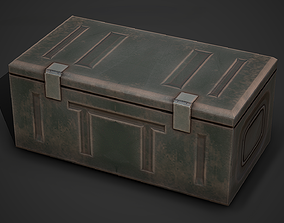 3D model Ammo Crate 03 Low Poly Mobile Ready