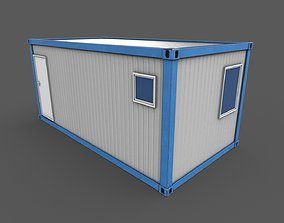 Office Container 02 3D model
