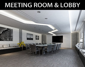 3D Meeting Room and Waiting Area