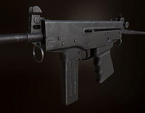 3D asset PP-91 KEDR submacine gun