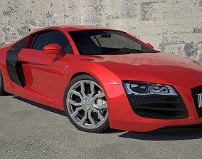 engine 3D Audi R8