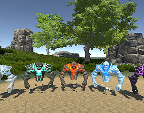 Spirit Elemental Pack 3D asset