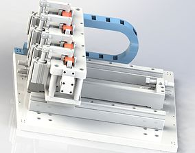 3D model Hinge locating mechanism