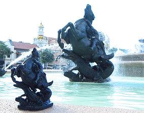 3D printable model JC Nichols Memorial Fountain Sculptures