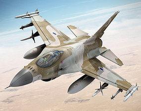 3D F 16 Falcon