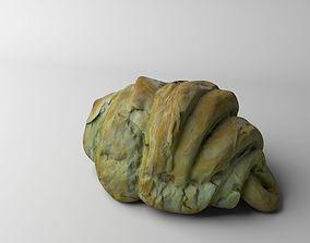 Croissant bakery 3D model realtime