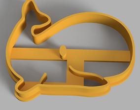 3D print model Whale - Ballena Cookie Cutter