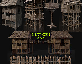 3D model AAA NEXT GEN Watchtower Hunter Collection Pack