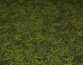 ground grass tile 23 3D model