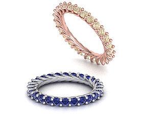 Diamond Eternity band ring many finger sizes Printable 1
