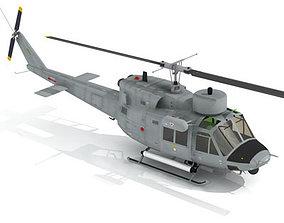 3D B 212 Navy
