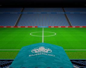 3D Free EuroArena Soccer Stadium Euro 2020