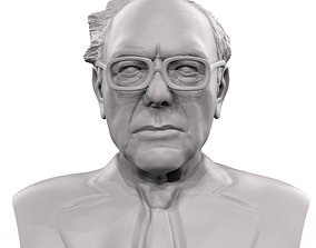 Bernie Sanders 3d model 3d printable sculpture
