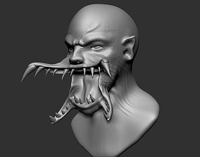 Evil Head 3D print model