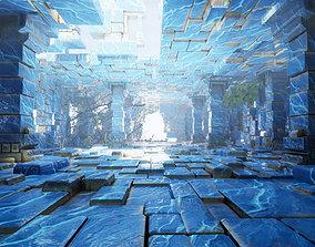 Modular Walls Fantasy 3D model