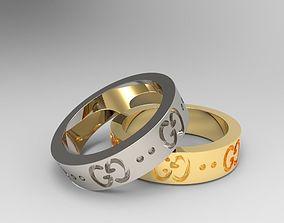 ring Ring Gucci 3D print model