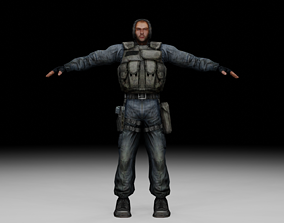 3D model Stalker - Mercenary 05