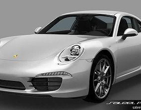 3D model Porsche 911 Carrera 2014