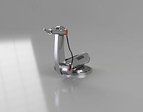 machine Robotic Arm 3D