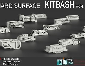 3D Hard Surface KitBash Vol 5