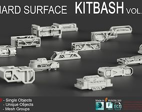 Hard Surface KitBash Vol 5 3D model
