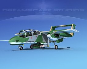 Rockwell OV-10 Bronco Philippines 3D