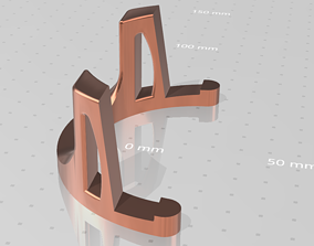 Universal phone and tablet holder 3D print model