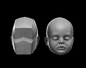 3D model Planes of the baby head blockout