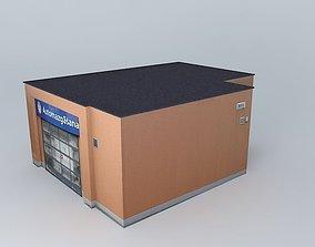 Carwash type 1 Statoil Fuel%26Retail 3D model