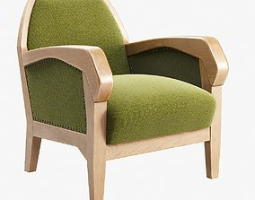 3D model Anthroposophical Easy Chair by Felix