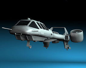3D model Sci-fi vstol vehicle
