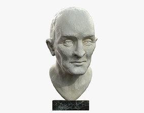 3D asset Plaster Bust