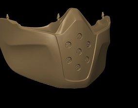 3D print model Shark RAW motorcycle helmet face guard