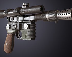 3D model DL-44 Blaster