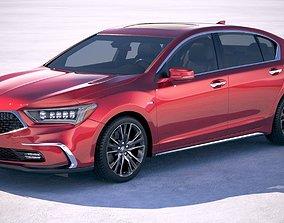 3D model Acura RLX 2018