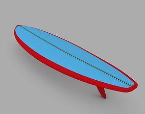 3D model Surfboard 04