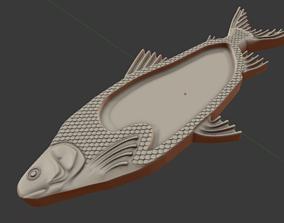 Fish plate 3D print model