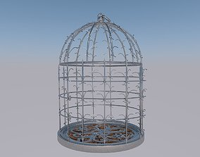 Silver Cage 3D model