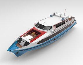Yacht Boat 3D
