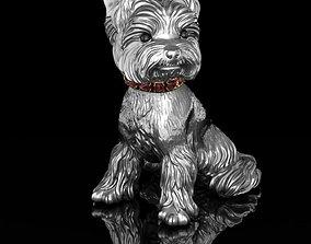 Statuette Yorkshire Terrier 3D print model
