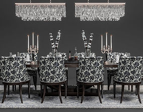 3D model May Fair Dining Set
