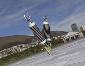 3D model Electricity Poles Ceramic Insulator 12 - Object
