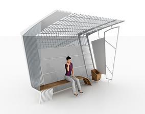 BUS STATION 1 3D