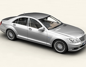Mercedes S Class 2010 3D model