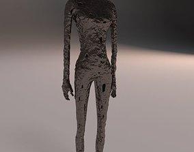 Human Sculpture contemporary 3D model