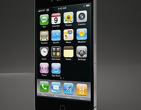 ipod High Def Iphone 4G Black AND White 3D