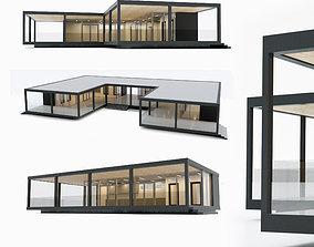 3D terrace Villa house Collection 3 models